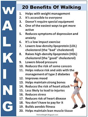Walking benefits 2