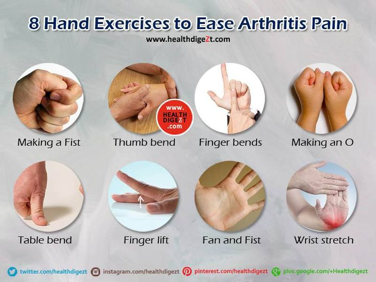 Arthritis hand exercises